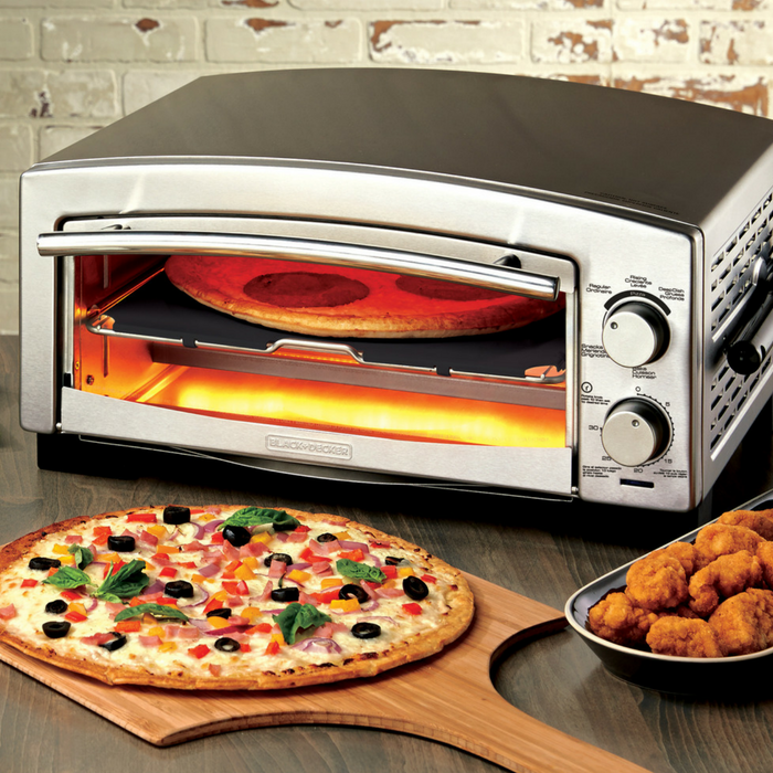 Black+Decker Pizza Oven Just $49.99! Down From $150! PLUS FREE Shipping!