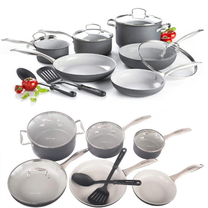 GreenLife 12-Piece Cookware Set
