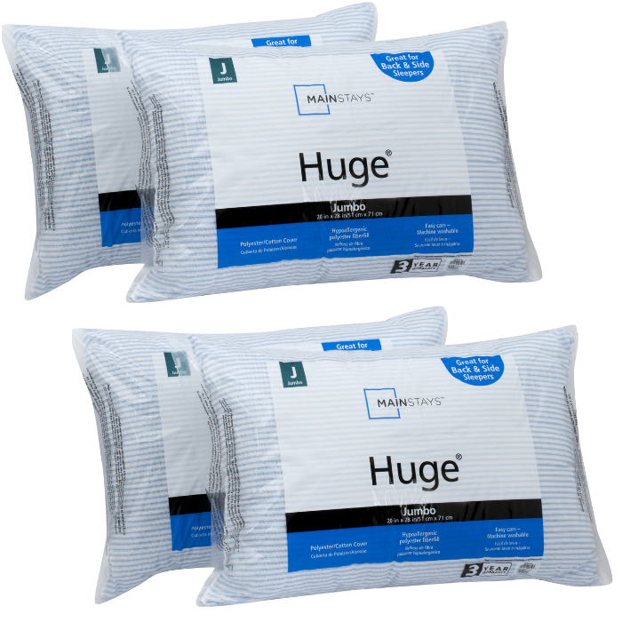 Mainstays Pillow 2-Pack