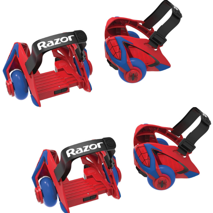 Razor Spider-Man Heel Wheels