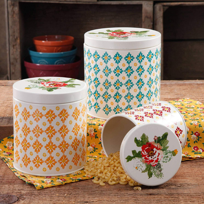 Vintage 3-Piece Canister
