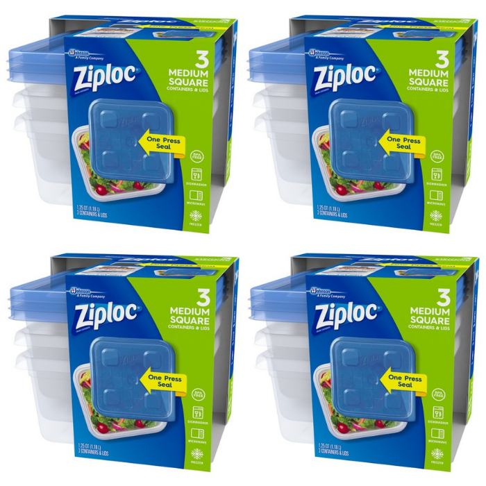 Ziploc Containers Just $0.48 At Walmart!
