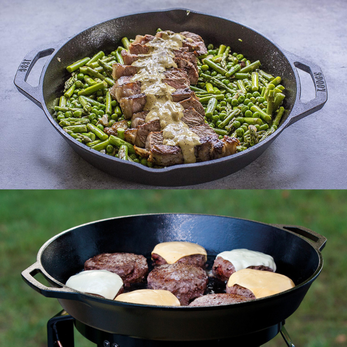"Lodge 12"" Cast Iron Pan"