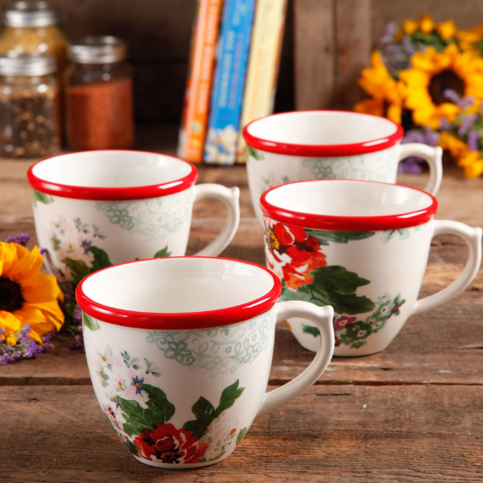 Coffee Cups 4-Piece Set Just $7.94! Down From $16!