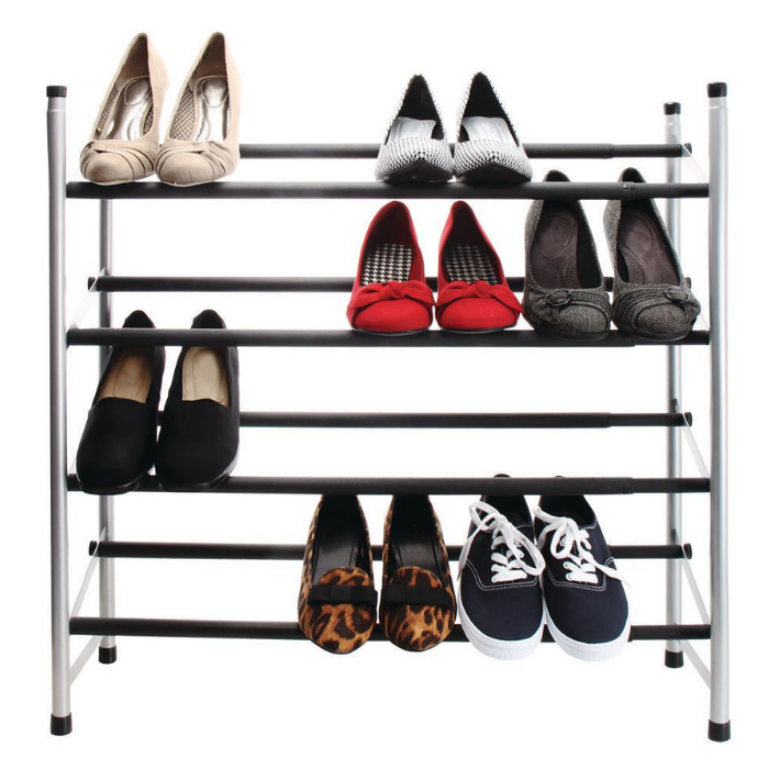 Mainstays 4-Tier Shoe Rack