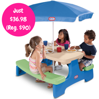 Little Tikes Picnic Table Just $36.98! Down From $90! PLUS FREE Shipping!