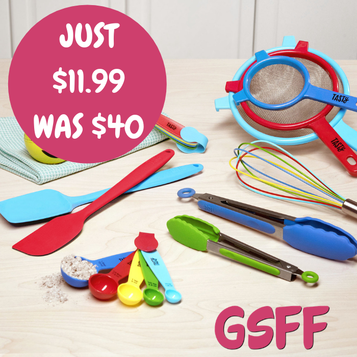 Kitchen Utensil 19-Piece Set