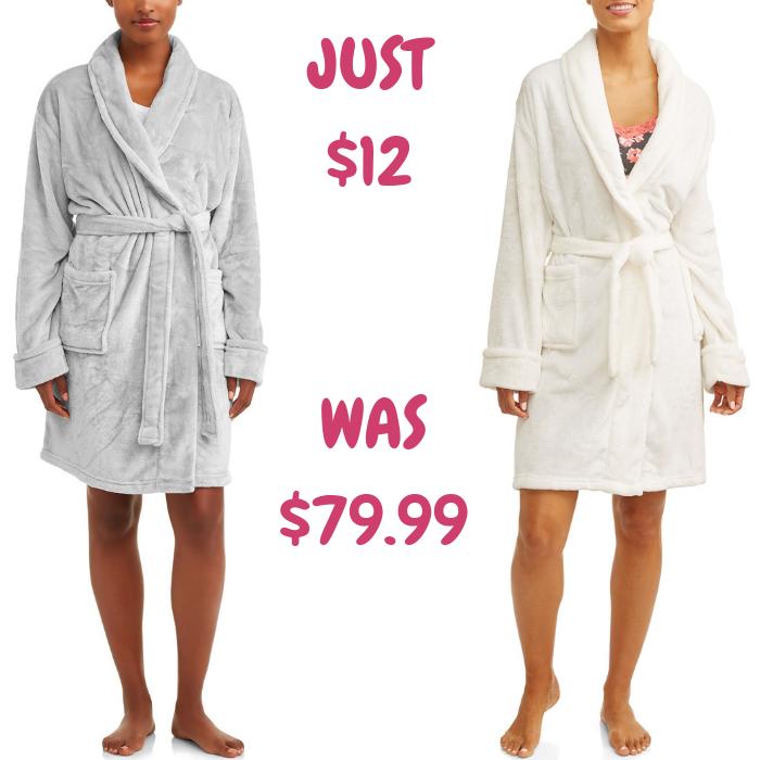 Women's Velvet Robe