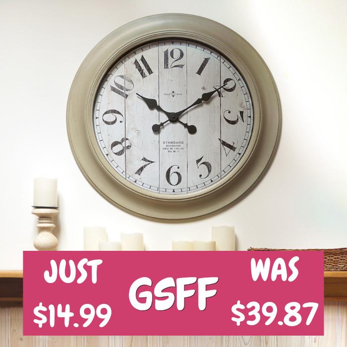 28-Inch Wall Clock