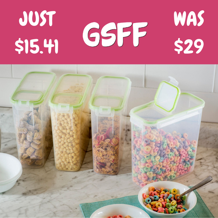 Food Storage 4-Piece Set