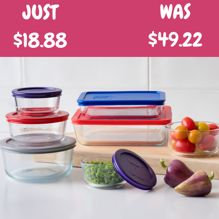 Pyrex Container 14-Piece Set