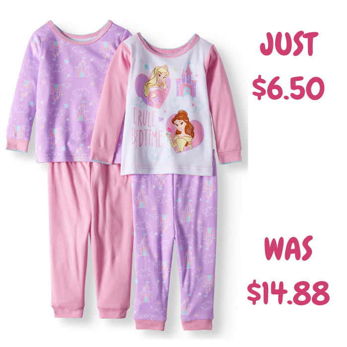 Kids Pajamas 4-Piece Set