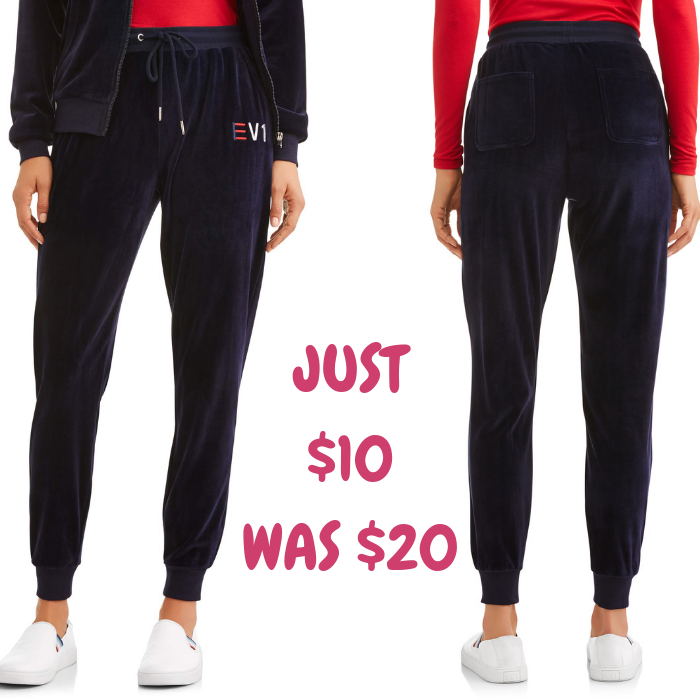Women's Heart Velour Pant