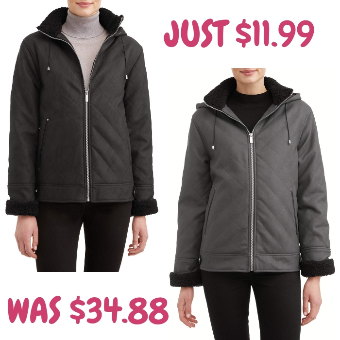 Women's Sueded Coat