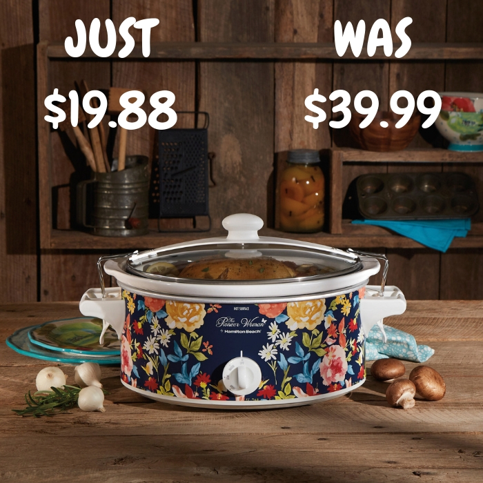 6-Quart Portable Slow Cooker Just $19.88! Down From $40!