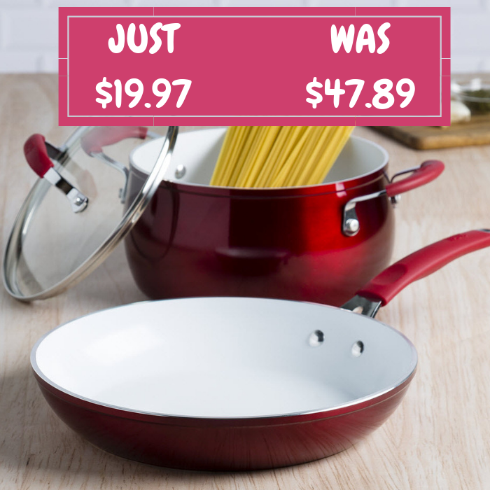 Tasty 3-Piece Cookware Set