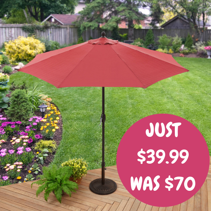 9-Foot Market Umbrella
