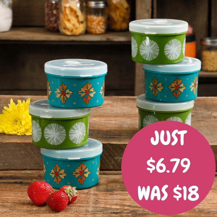 Round Container 6-Piece Set