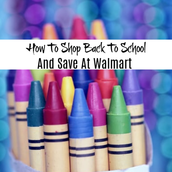 How To Shop Back To School And Save At Walmart