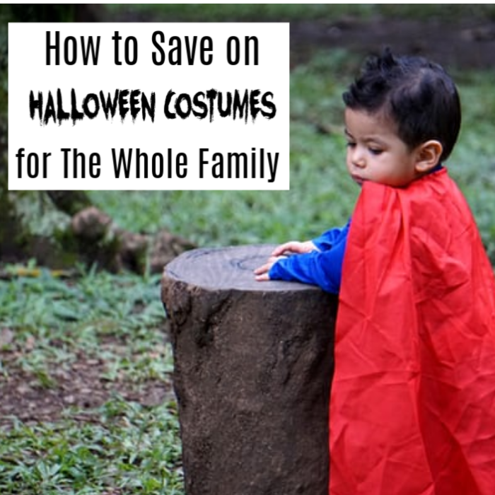 How to Save on Halloween Costumes for the Family